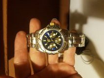 Mens two tone Fossil Blue chrono watch. in Fort Leonard Wood, Missouri