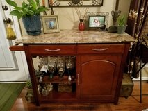 A MUST SEE! Marble Top Bar Cart in Fort Campbell, Kentucky