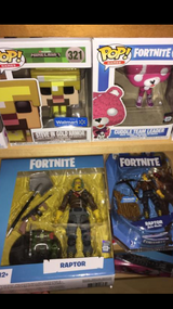 Fortnite & minecraft toys for sale in 29 Palms, California