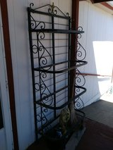 Metal display stand in Alamogordo, New Mexico
