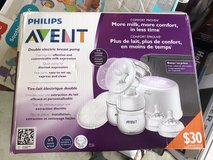 New in box avent double electric pump in Moody AFB, Georgia