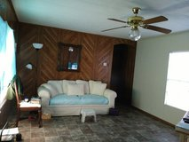 Beautiful cream color couch, must see to appreciatio in Leesville, Louisiana