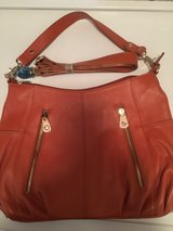 Brown leather purse (new) in Joliet, Illinois