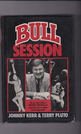 BULL SESSION an up-close look at Michael Jordand and courtside stories about the Chicago Bulls in Naperville, Illinois
