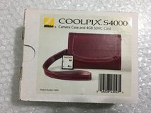 Brand New Original OEM Nikon Coolpix Camera Case (Plum)+ 4GB SD Card in Plainfield, Illinois