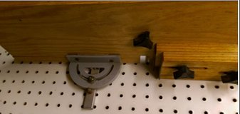 """Jig for setting up cutting """"dove tails"""" in Kingwood, Texas"""