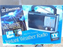Emergency weather radio in Yucca Valley, California