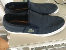 Men's navy Lacoste size 9 in Chicago, Illinois