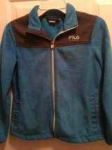 Girls Blue Fila Polar fleece jacket in Naperville, Illinois