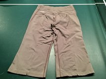 Grey Workout stretch capris by Columbia Sportswer Co. - Titanium (S) in Westmont, Illinois