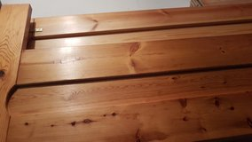 Nice wooden bed, 180/200cm in Ramstein, Germany