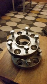 BMW Wheel spacers in Lakenheath, UK