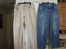 569 Levis tan color nice pants in Alamogordo, New Mexico