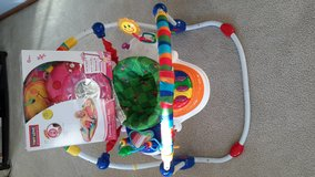 Baby Einstein activity jumper Plus ladybug pillow and mat in Orland Park, Illinois