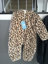 Leopard snow suit 90 cm (18-24 months) NWT in Oswego, Illinois