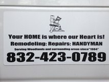 **HOME REPAIRS/HANDYMAN**Remodel  832-423-0789 in Conroe, Texas
