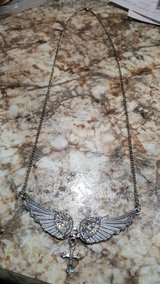 Angel Wing Necklace in Bellaire, Texas