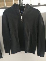 Faconnable dark navy half zip medium in Naperville, Illinois