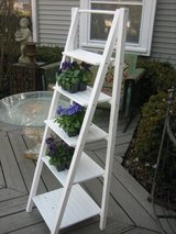 shabby chic ladder folding shelf in Westmont, Illinois