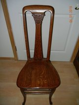 Beautiful & Graceful Tiger Oak - Quartersawn Vanity or Desk Chair in Alamogordo, New Mexico