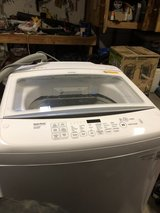LG true balance washing machine in Houston, Texas