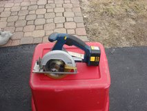 "RYOBE 5 1/2 "" CORDLESS  CIRCULAR SAW 14.4 VOLT in Chicago, Illinois"