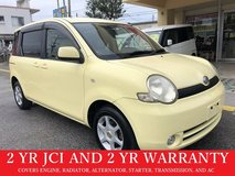 2 YR JCI AND 2 YR WARRANTY!! 2004 TOYOTA SIENTA!! FREE LOANER CARS AVAILABLE NOW!! in Okinawa, Japan