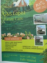 G&S Lopez Lawn Care in Oswego, Illinois