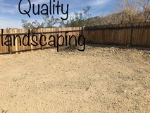 Quality landscaping available in 29 Palms, California