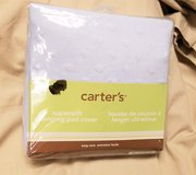 Carter's Changing Pad Cover 16x32 Blue Baby Blanket Crib Nursery Swaddle Soft in Kingwood, Texas