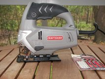 Jigsaw - Craftsman - Corded - Works Well - Extra  Blades included in Beaufort, South Carolina