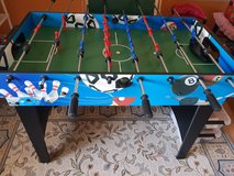 Large football table, interchangeable with other games. in Ramstein, Germany