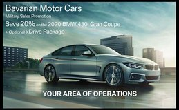 2020 BMW 430 Gran Coupe Promotion in Ramstein, Germany