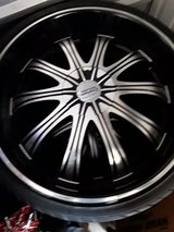 22inch Rims in Fort Leonard Wood, Missouri