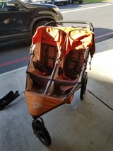 Bob double stroller in Camp Pendleton, California