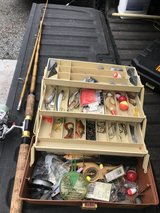 Mitch forester fishing rod and tackle in Beaufort, South Carolina