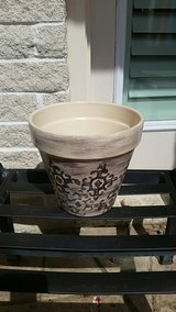 Painted Terracotta Planter-NWT in Kingwood, Texas
