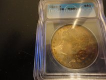 1885-o ms 66+ morgan dollar pcgs lists this at $500.00 in Fort Campbell, Kentucky