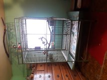 Parrott  cage w/toys  and all in Fort Leonard Wood, Missouri