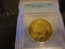 1964 d kennedy half dollar ms 66 pcgs lists this at $150.00 in Fort Campbell, Kentucky