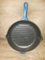 """Le Creuset 10 1/4"""" Skillet Grill in Bolingbrook, Illinois"""