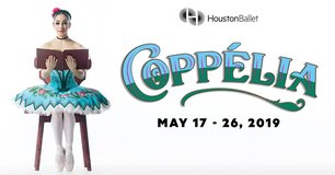 "(2/4) ""COPPELIA"" Ballet 6th Row/Lowers/Center Seats - Sat, May 25 - Call Now! in Baytown, Texas"