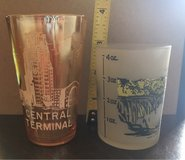 Vintage N.Y. Souvenir Glasses in Yorkville, Illinois