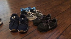 Boys toddler size 8 shoes in Baytown, Texas