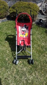 Mickey Mouse umbrella stroller in Orland Park, Illinois