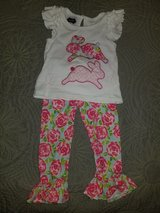 mudpie bunnies 2 piece outfit ~ size 12-18m in Houston, Texas