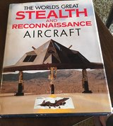 Stealth & Reconnaissance Aircraft Book in Naperville, Illinois