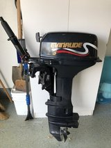YEAR 2000-6HP 4 STROKE EVINRUDE LONG SHAFT OUTBOARD MOTOR in Plainfield, Illinois