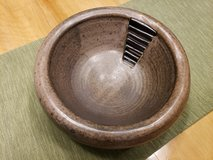 Beautiful decorative heavy clay bowl in Bolingbrook, Illinois
