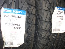 Tire (235/75R15 2set) in Okinawa, Japan
